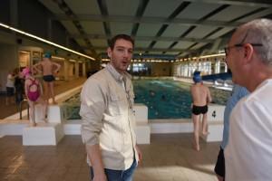 Bertrand le maitre nageur